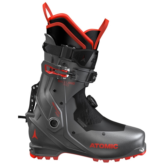 Atomic Backland Pro Thermoformable - Anthracite/Red