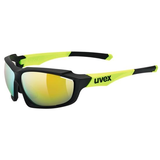 Uvex Sportstyle 710 - Negro/Amarillo