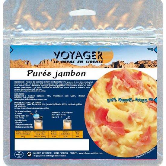 Voyager Purée de Pommes de Terre avec Jambon -