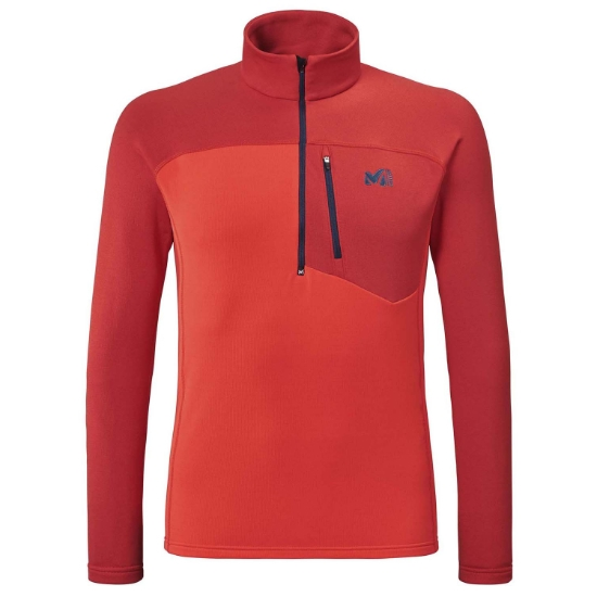 Millet TechnoStrectch Zip - Fire