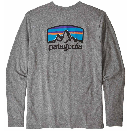 Patagonia L/S FITZ ROY HORIZONS RESP-TEE - Photo of detail