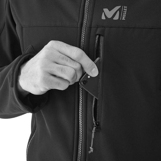 Millet Track Hoddie - Detail Foto