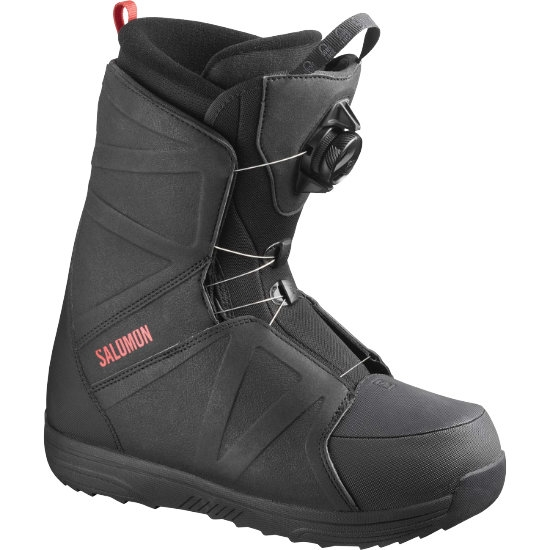 Salomon Faction Rtl Boa - Black/red
