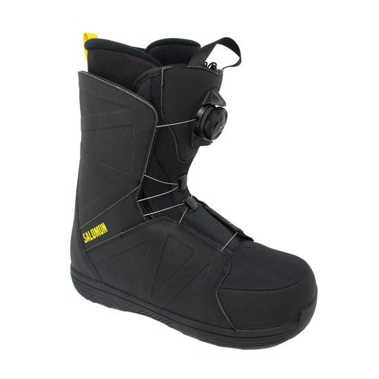 Salomon Faction Boa - Black/Yellow