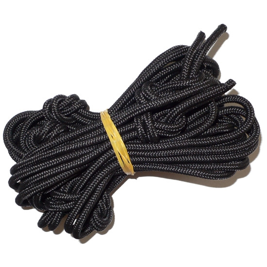Ticket To The Moon Nautical Ropes, 1 Set of 2 ropes - Black