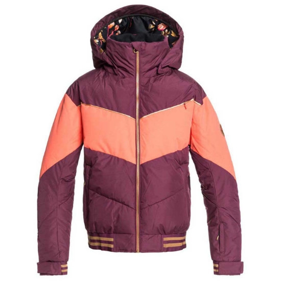 Roxy Torah Bright Summit Jacket W - Grape Wine