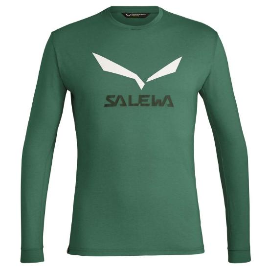 Salewa Solidlogo Dry L/S Tee - 5949