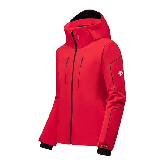 Descente Isak Insulated Jacket - Electric Red