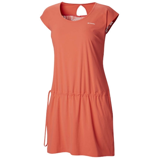 Columbia Peak To Point Dress W - Red Coral