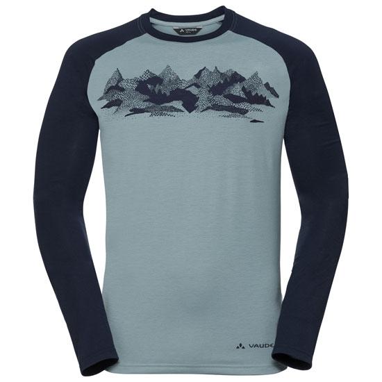 Vaude Gleann LS Shirt II - Blue elder