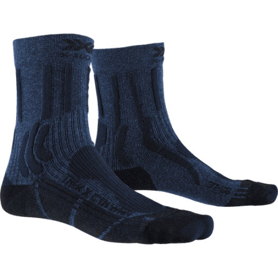 Xsocks Trek X Ctn W - Midnight Blue Melange/Opal