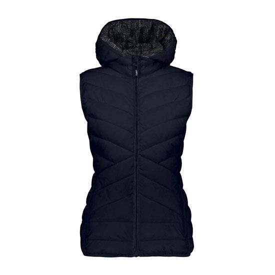 Campagnolo Zip Hood Vest W - Black Blue