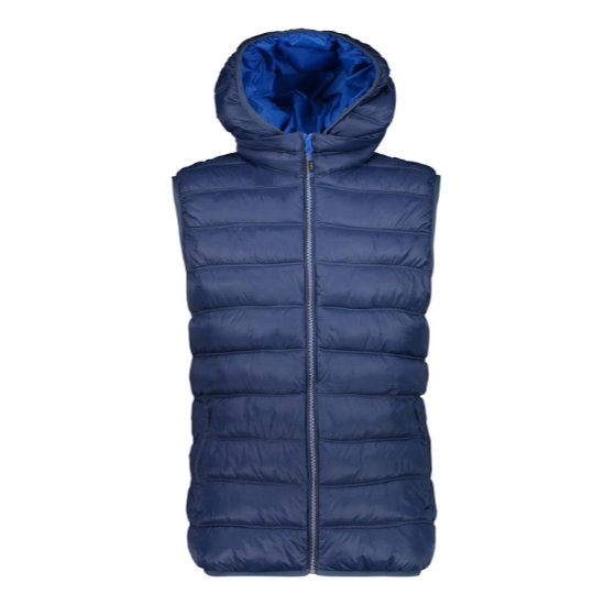 Campagnolo Nylon Zip Hood Vest - Inchiostro