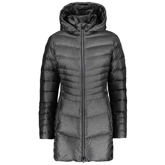 Campagnolo Coat Snaps Hood W - Antracite/Grey