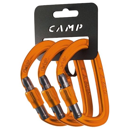 Camp Orbit Lock  (3x Pack) - Orange