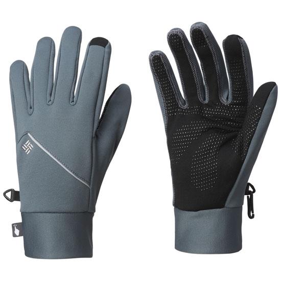 Columbia Trail Summit Running Gloves - Graphite