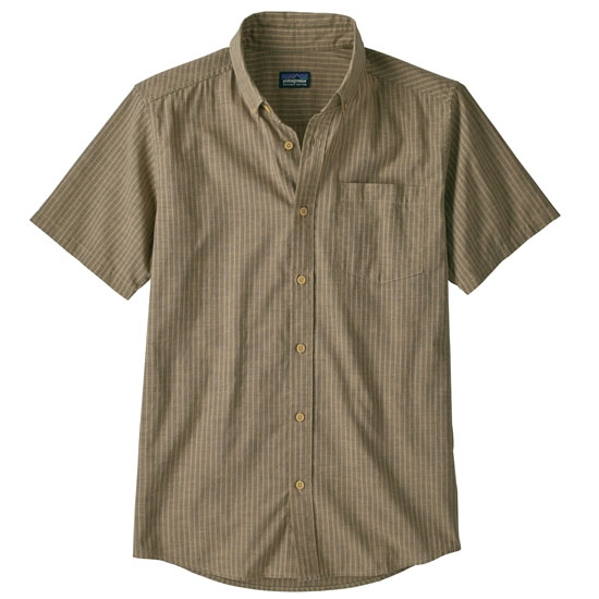 Patagonia Lw Bluffside Shirt - Rail Strip