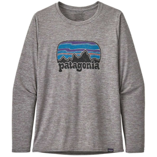 Patagonia Long-Sleeved Capilene® Cool Daily Graphic Shirt W - Fitz Roy Far Out