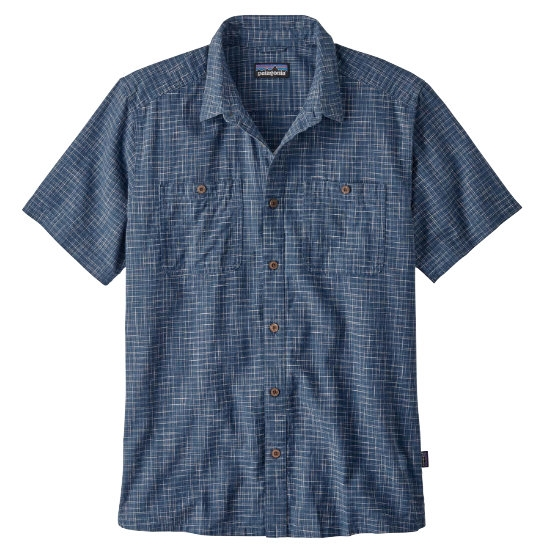 Patagonia Back Step Shirt - Trails/Stone Blue