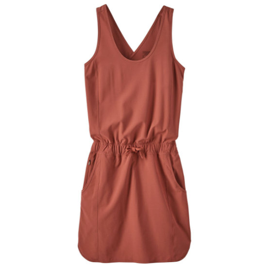 Patagonia Fleetwith Dress W - Spanish Red