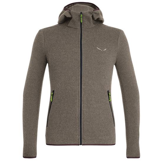 Salewa Fanes Hybrid Wool Jacket - Bungee Cord Melange