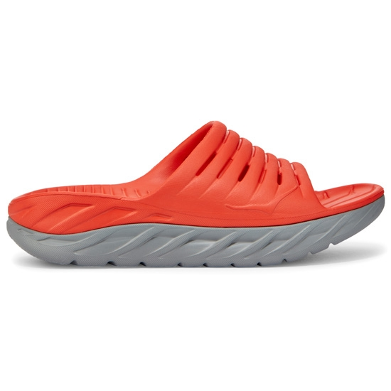 Hoka One One Ora Recovery Slide - Red/Dove