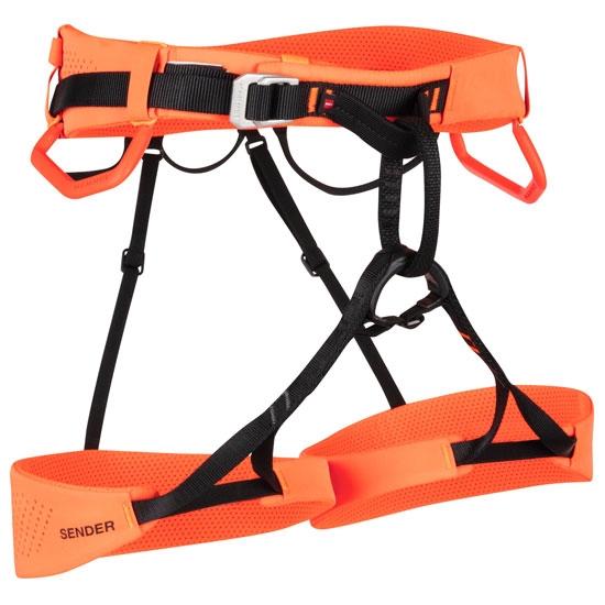 Mammut Sender Harness - Safety Orange
