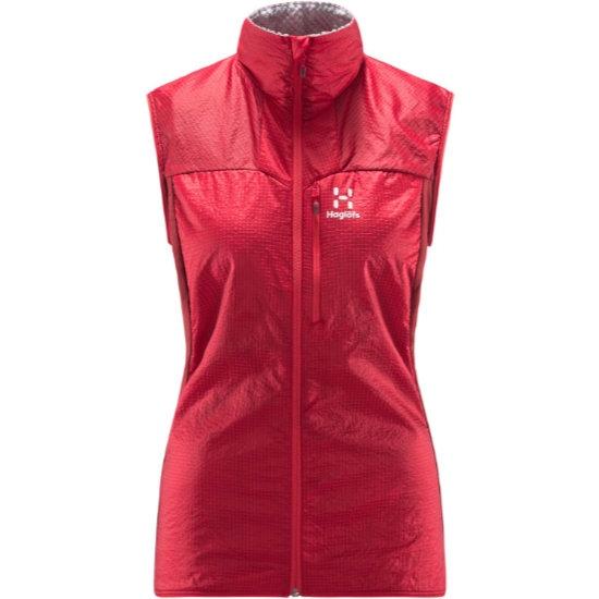 Haglöfs Summit Hybrid Vest W - Hibiscus Red/Brick Red