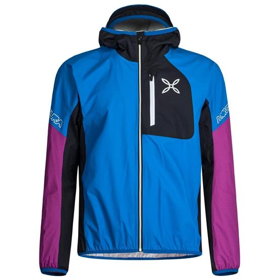 Montura Rain Safe Jacket W - Blue/Fuxia