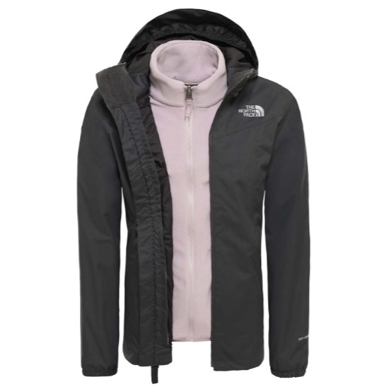 The North Face Eliana Triclimate Girl - Asphalt Grey