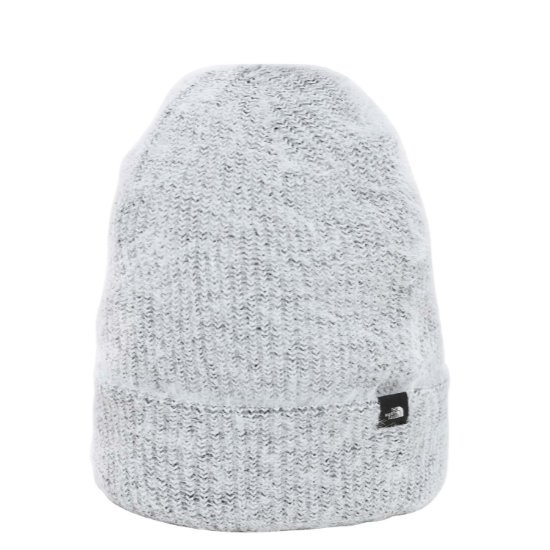 The North Face Plush Beanie W -  White Heather