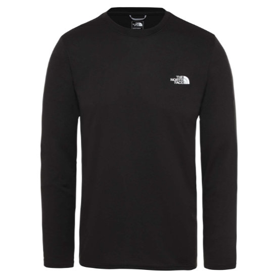 The North Face Reaxion Amp LS Tee - Black