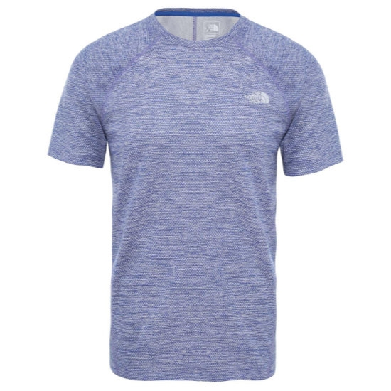 The North Face Ambition SS Tee - Blue/Montague Blue
