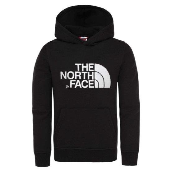 The North Face Drew Peak PO Hoodie Jr - Black/Black
