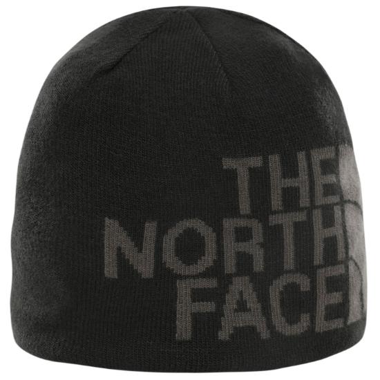 The North Face Reversible Tnf Banner Beanie - Black/Asphalt