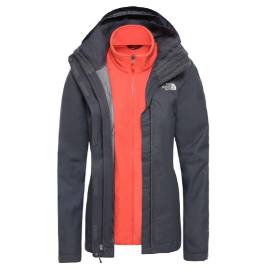 The North Face  Evolve II Triclimate Jacket W Vanadis gris NF00CG56G9F1   distribución global