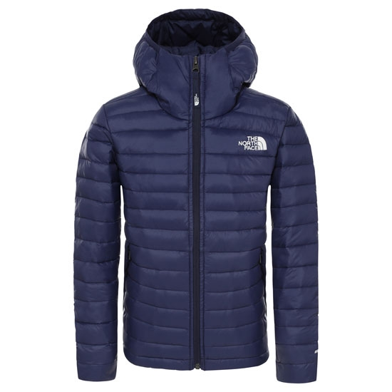 The North Face Aconcagua Down Hoodie Jr - Montague Blue