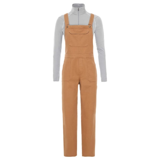 The North Face Moeser Overall W - Cedar Brown