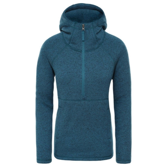 The North Face Crescent Hooded PO W - Blue Coral Heather