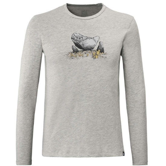 Millet Boulder Dream TS LS - Heather Grey