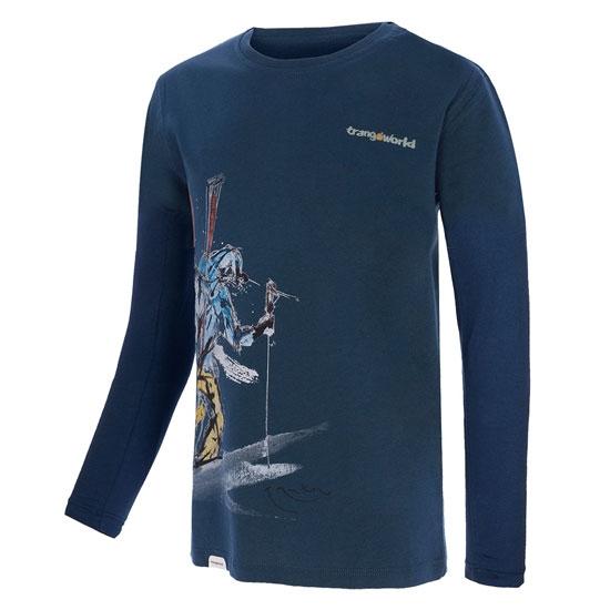 Trangoworld The Lonely T-Shirt Jr - Petrol Blue