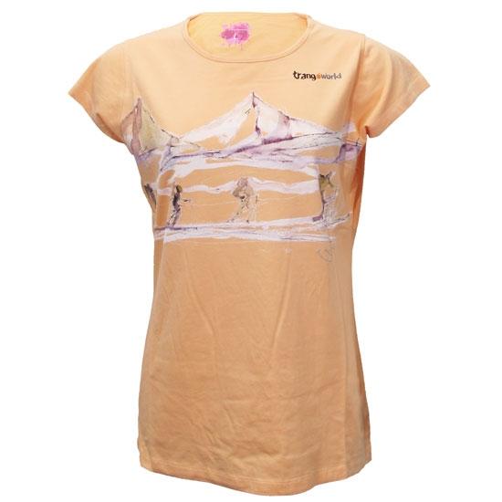 Trangoworld Camiseta Across The Glacier Short W - Orquidea
