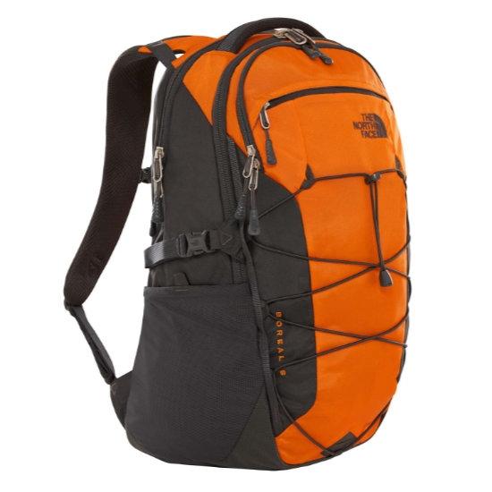 The North Face Borealis -  Persian Orange Ripstop/TNF Black