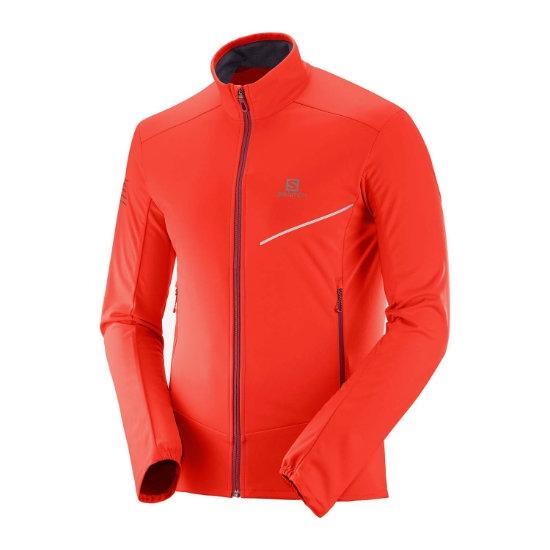Salomon Rs Softshell Jacket - Fiery Red/Biking Red