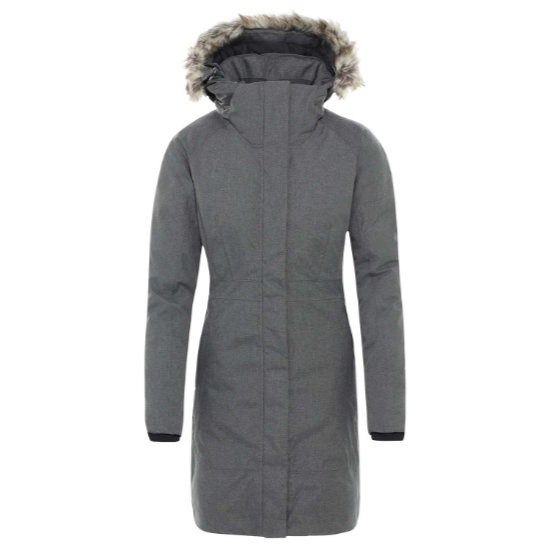 The North Face Arctic Parka II W - Medium Grey Heather