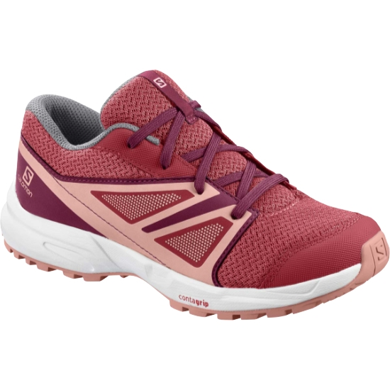 Salomon Sense Jr - Garnet RoseBeet Red Red Coral