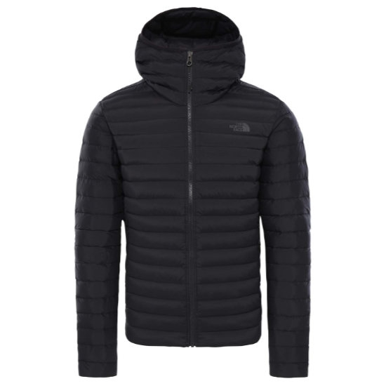 The North Face Stretch Down Hoodie - Black