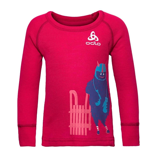Odlo Active Warm Trend Kids - Cerise