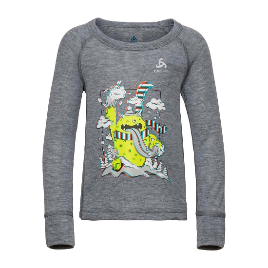Odlo Active Warm Trend Kids - Grey