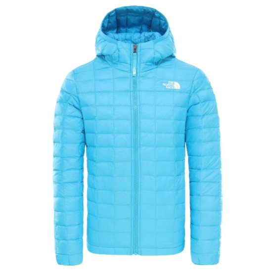 The North Face Thermoball Eco Hoodie Girl - Acoustic Blue